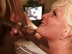 Anal Blowjob Facial Interracial Blonde