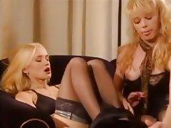 Blonde German Threesome Vintage