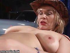 Blonde Granny Lesbian Mature