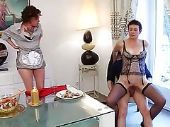 Anal French Threesome