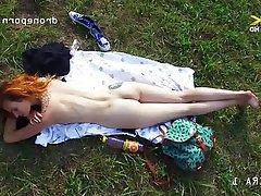 Czech Outdoor Small Tits Teen