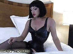 BDSM Bondage Femdom POV