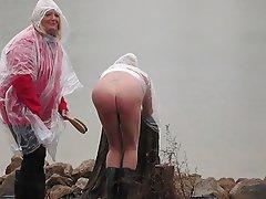 Amateur Mistress Outdoor Spanking