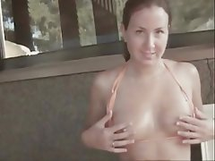 Amateur Cumshot Handjob Small Tits