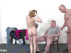 German Mature MILF Threesome
