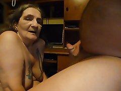 Cumshot Granny Masturbation Mature