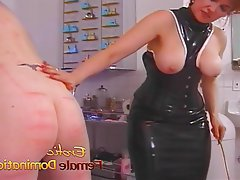 Femdom Latex Medical Mistress