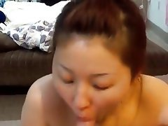 Amateur Asian Blowjob Cum in mouth