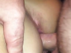 Amateur Close Up Creampie Orgasm POV
