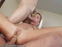 Hardcore MILF Threesome