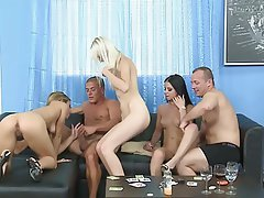 Amateur Bisexual Gangbang Group Sex