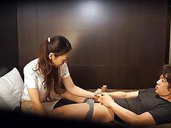CFNM Handjob Japanese Massage MILF