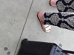 German Amateur Foot Fetish MILF