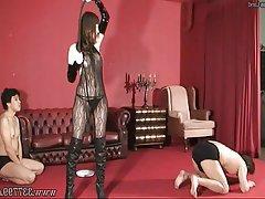 Asian BDSM Handjob Japanese BDSM