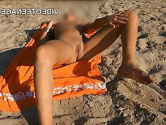 Amateur Beach Public Teen