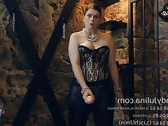 BDSM Femdom German Strapon Sissy