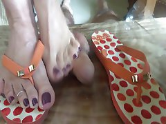 BDSM Cumshot Femdom Foot Fetish Footjob