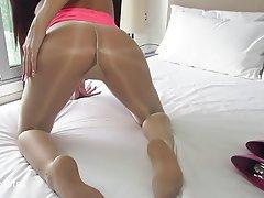 High Heels Pantyhose Pussy