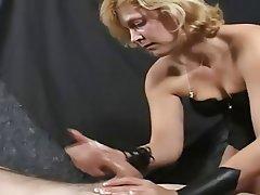 Amateur Cumshot Femdom Handjob Masturbation