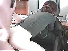 Amateur Brunette POV Secretary