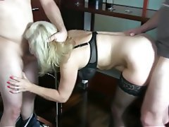 German Amateur Anal Cum in mouth