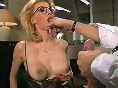 Anal Babe Blonde Close Up
