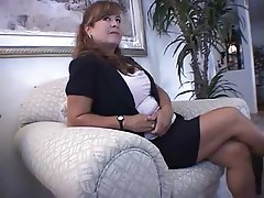 Brunette Foot Fetish MILF POV Softcore