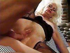 Anal Cumshot Granny Hardcore