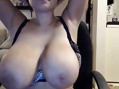 Amateur BBW Big Boobs Masturbation