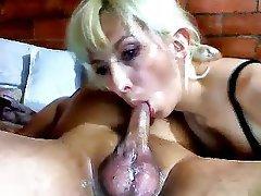 Amateur Blowjob Close Up MILF Webcam