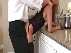 Amateur Blonde Blowjob Lingerie