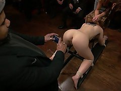 BDSM Brunette Rough Fucking