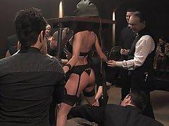 BDSM Bondage Brunette Black