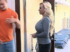 Big Tits Blonde Housewife MILF