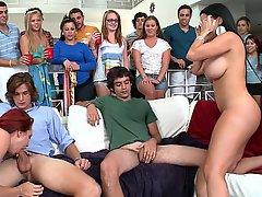 Big Tits Fucking Hardcore Orgy