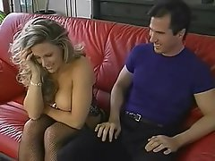 Babe Big Tits Blonde Blowjob