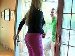 Ass Big Ass Big Tits Blonde