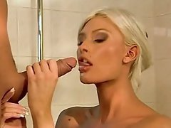 Babe Blonde Cute Fucking
