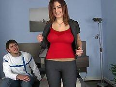 Amateur Big Tits Casting Jeans