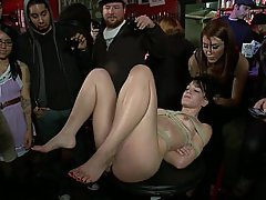 BDSM Bondage Brunette Rough