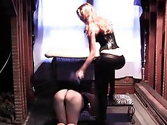 Femdom Foot Fetish Lesbian Stockings