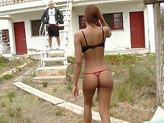 Bikini Black Blowjob Ebony