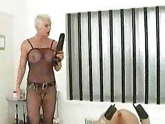 BDSM Blonde Femdom Lesbian