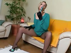 Masturbation MILF POV Stockings