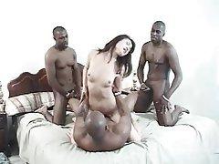 Asian Gangbang Hardcore Interracial Pornstar