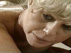 Blowjob Lesbian MILF Granny