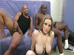 Anal Double Penetration Interracial Threesome
