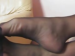 Amateur Blonde Foot Fetish MILF