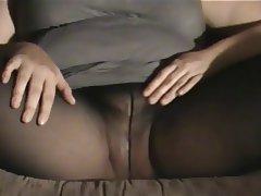 Amateur BBW Pantyhose