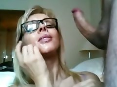 Amateur Cumshot Facial Orgasm